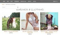 ShantiqueDesigns - Weebly store example