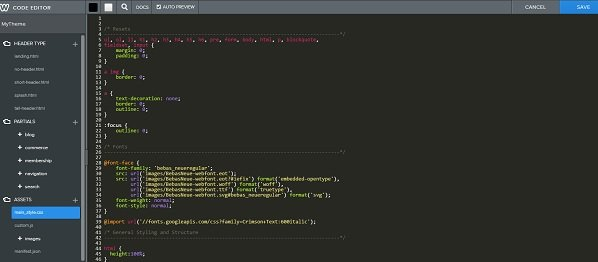Weebly css