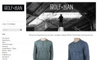 Wolf and Man Independent Menswear Label
