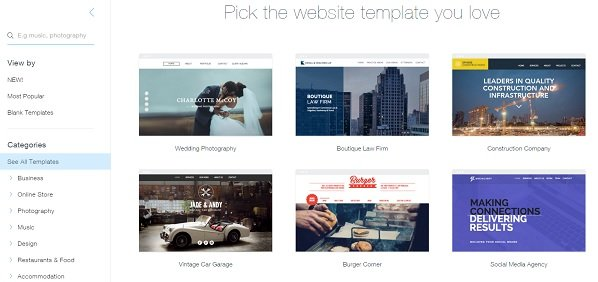 wix templates for wordpress motocms vs wix vs squarespace based on personal experience