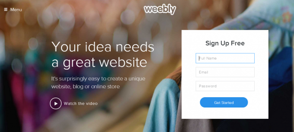Weebly - The New Design