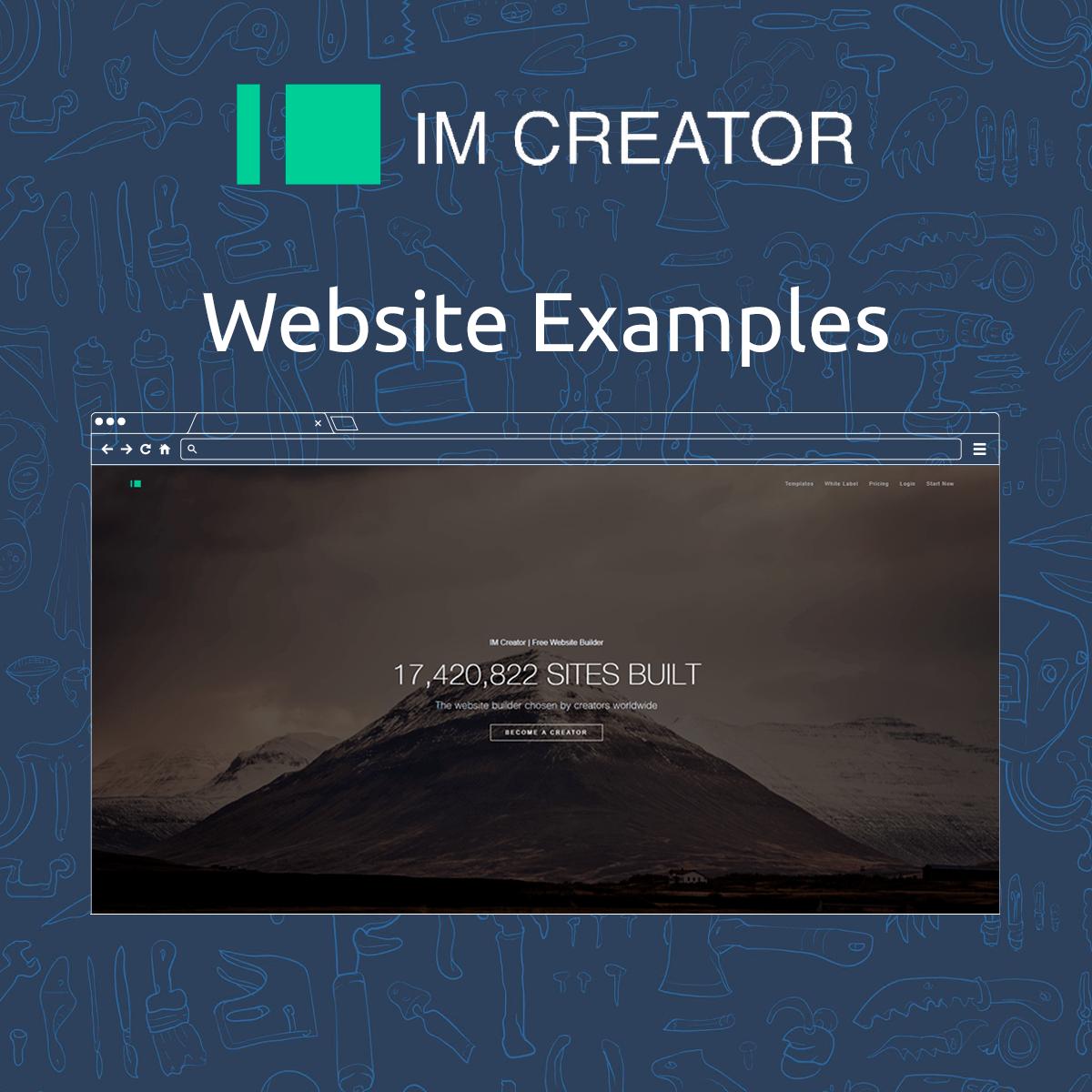 IMCreator Website Examples