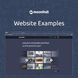 Moonfruit.com Website Examples