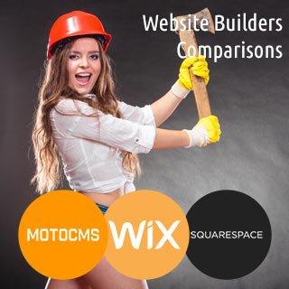 MotoCMS vs Wix vs Squarespace