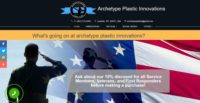 Archetype Plastic Innovations - uKit website examples