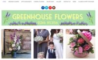 Greenhouse Flowers - uKit website examples