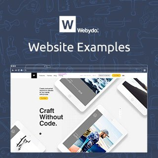 Webydo.com Website Examples