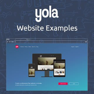 Yola.com Website Examples