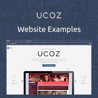 uCoz.com Website Examples