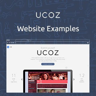 uCoz.com Website Examples