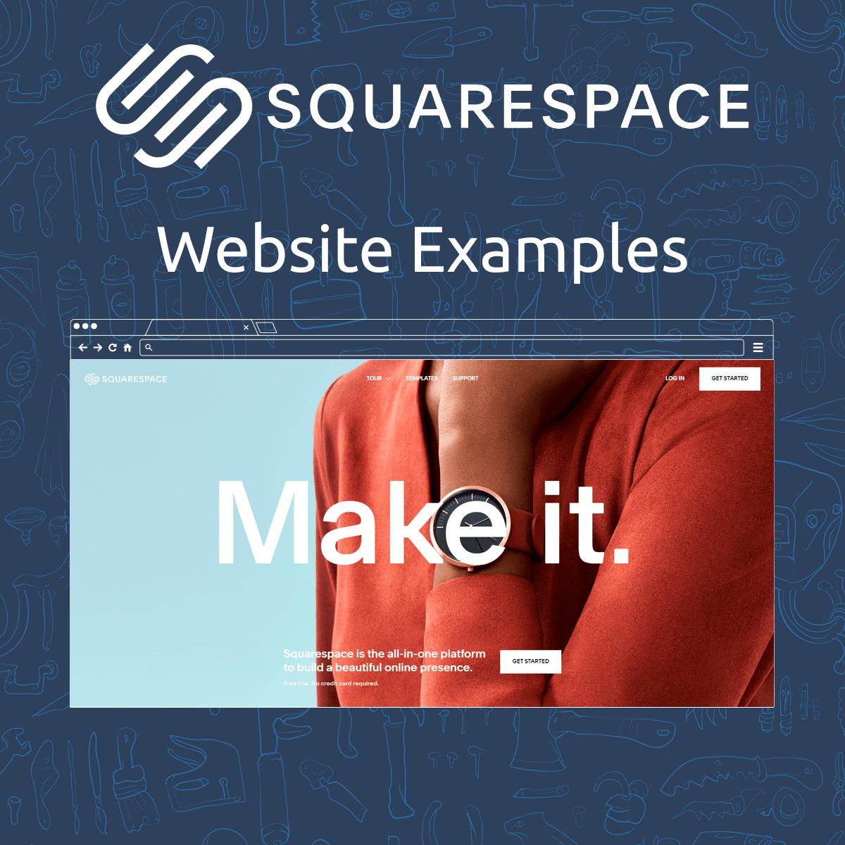 Squarespace Website Examples