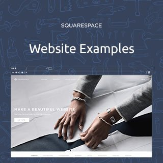 Squarespace.com Website Examples