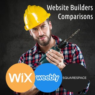 Wix vs Weebly vs Squarespace