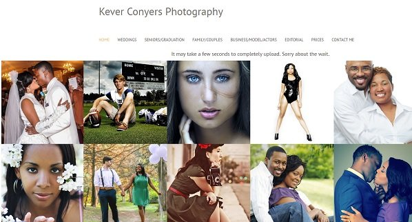 Kever - uKit Photography Website