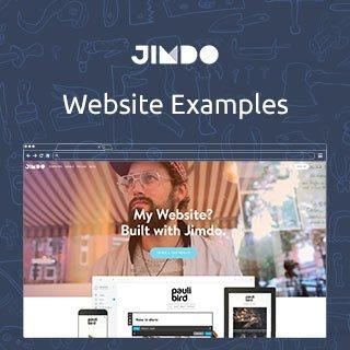 Jimdo.com Website Examples