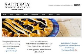 Saltopia - Weebly Store Example