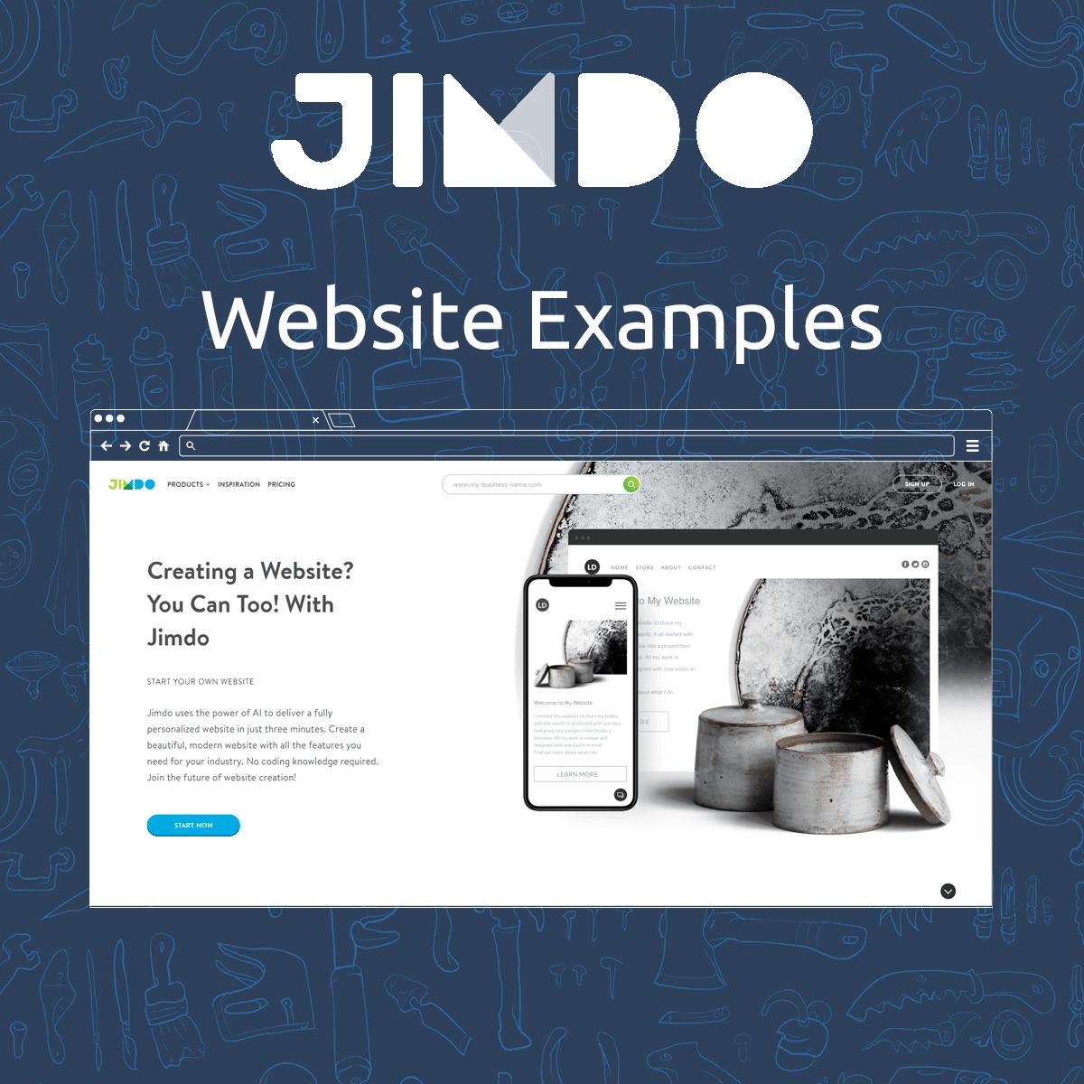 Jimdo Website Examples