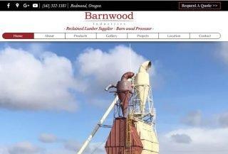 Barnwood Industries - Wix Business Website Example