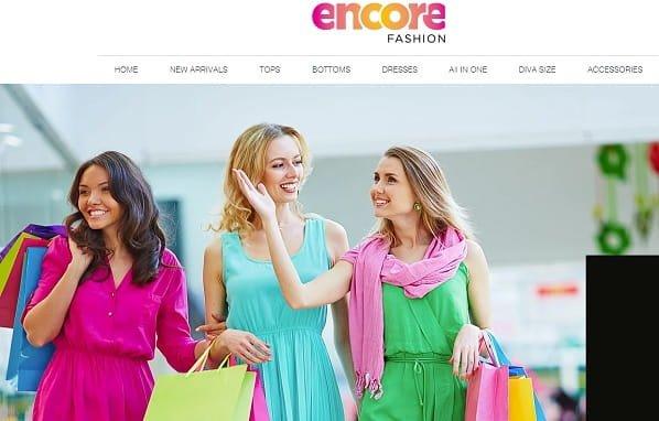 Encore Fashion - Wix eCommerce Example