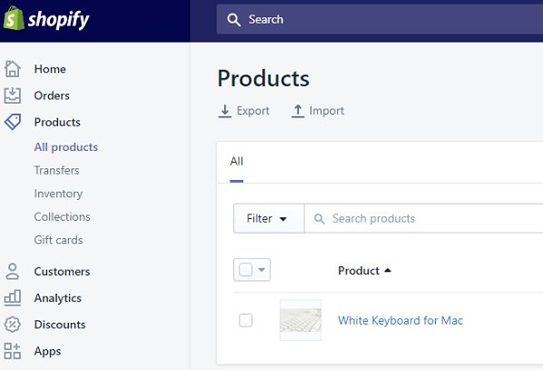 Shopify Backend