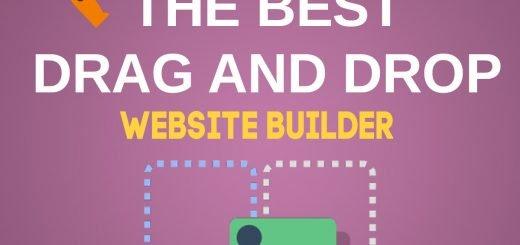 The Best Drag and Drop Website Builder