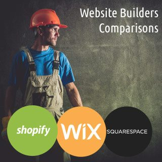 shopify vs wix vs squarespace
