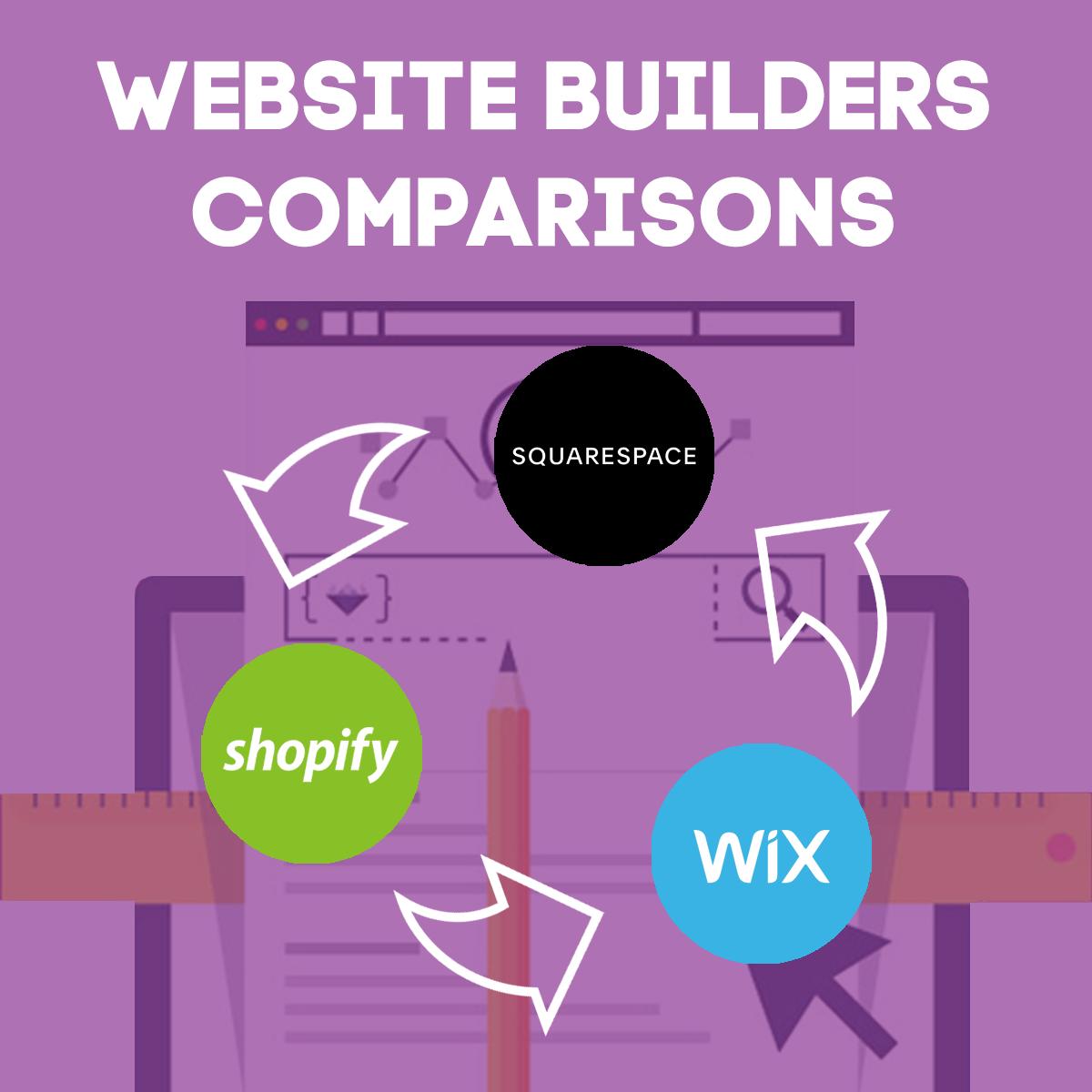 Shopify vs Wix vs Squarespace