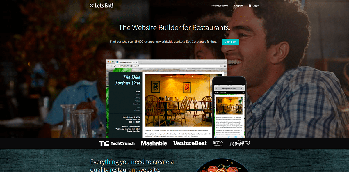 How to Make a Website for a Restaurant for Free