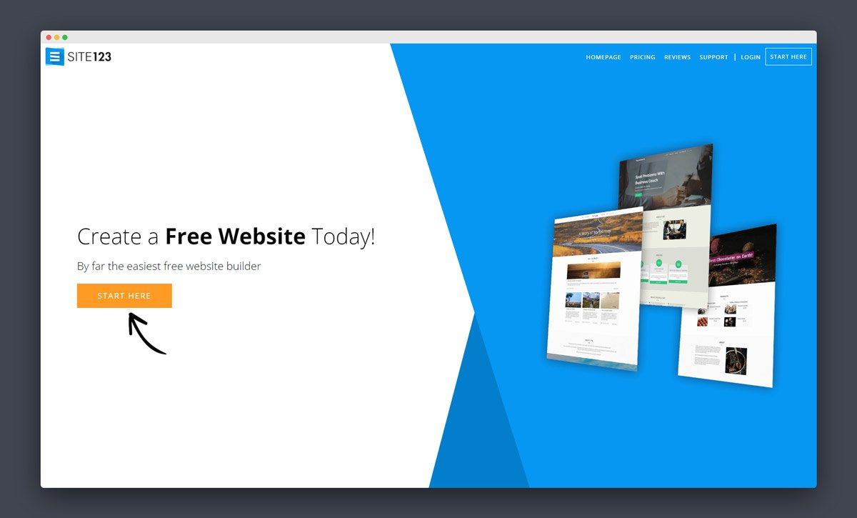 Site123 Review Is Site123 Com A Good Website Builder