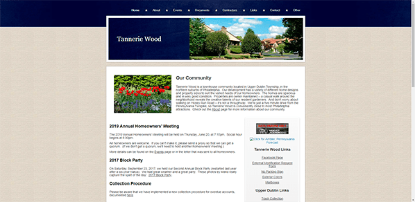 Tannerie Wood  - Yola Townhouse Community Website