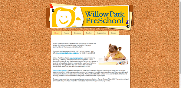 Willow Park Preschool – Yola Site