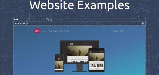 Yola Website Examples