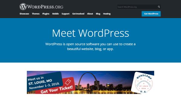 WordPress main