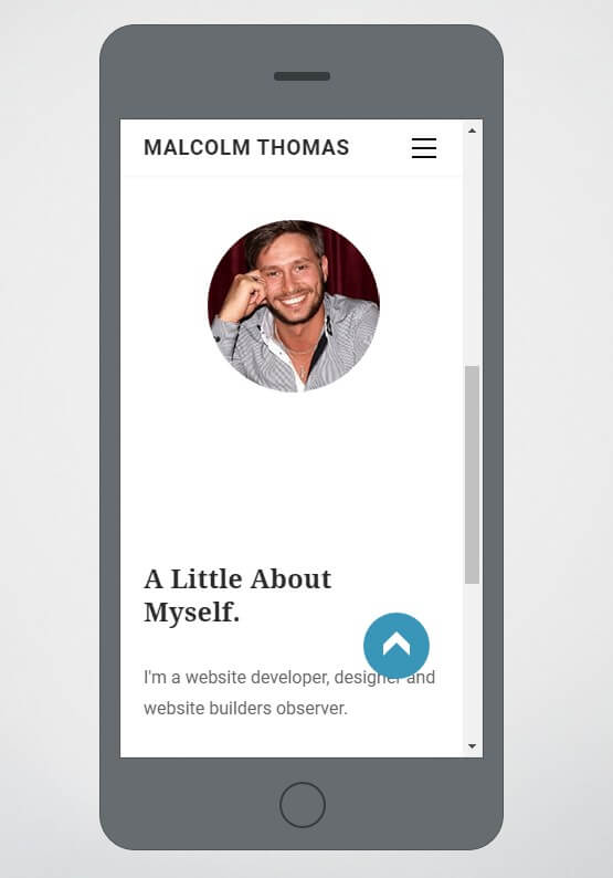 Weebly mobile Preview